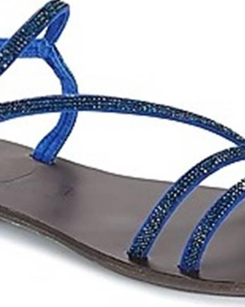 Modré sandály Les Petites Bombes