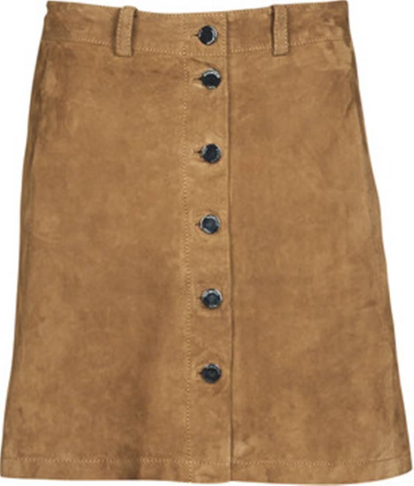 OAKWOOD Oakwood Krátké sukně KEREN Hnědá