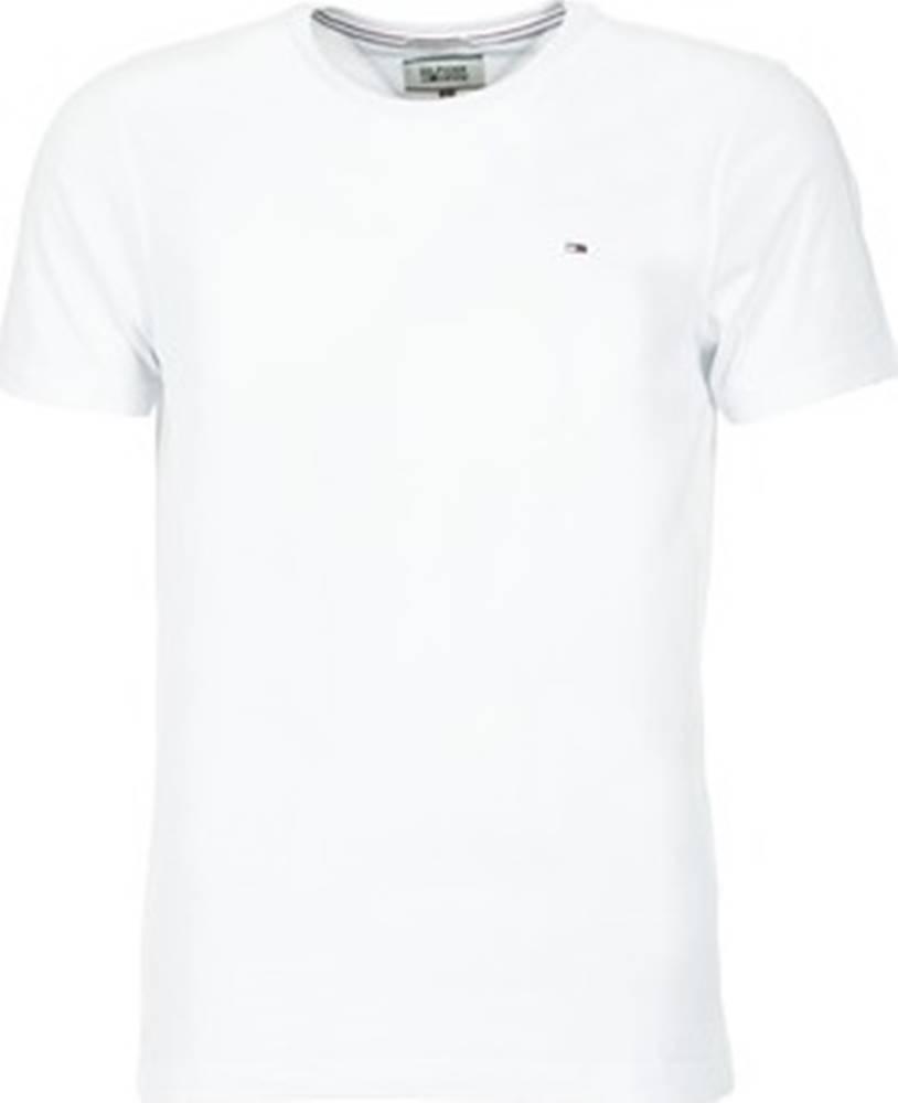 Tommy Jeans Tommy Jeans Trička s krátkým rukávem OFLEKI Bílá