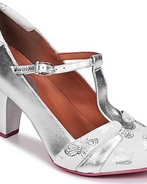 Stříbrné boty Cristofoli