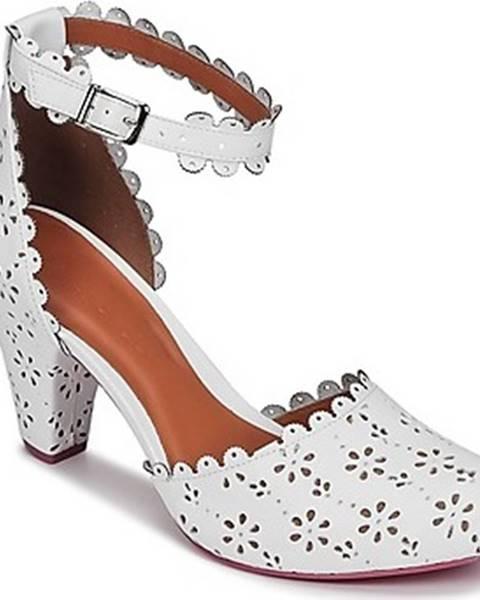 Bílé boty Cristofoli