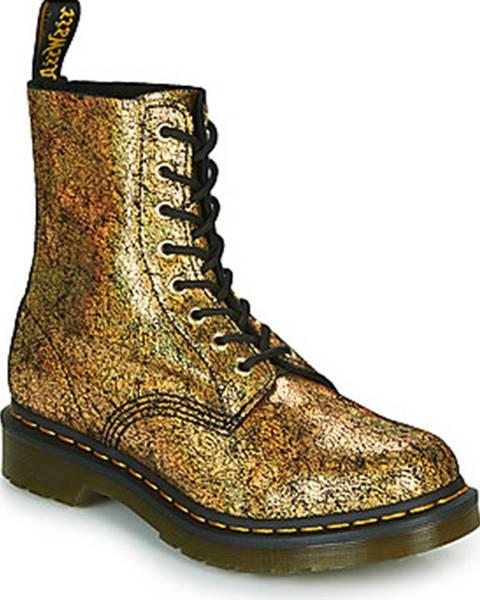Zlaté boty Dr Martens