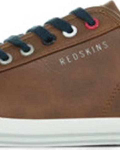 Hnědé tenisky Redskins