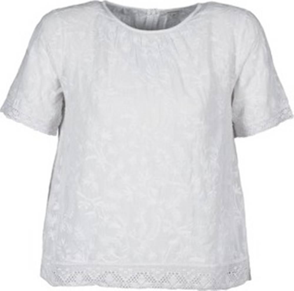 Manoush Manoush Trička s krátkým rukávem COTONNADE SMOCKEE Bílá