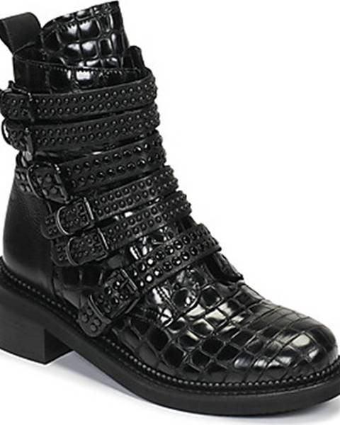 Černé boty Mimmu