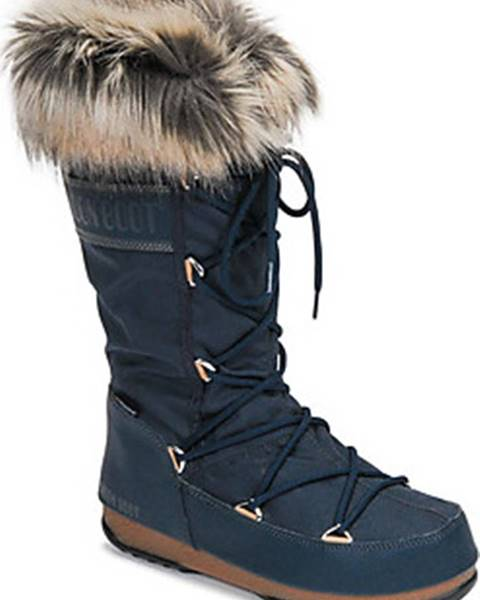 Modré boty Moon Boot