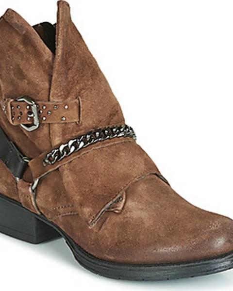 Hnědé boty Metamorf'Ose