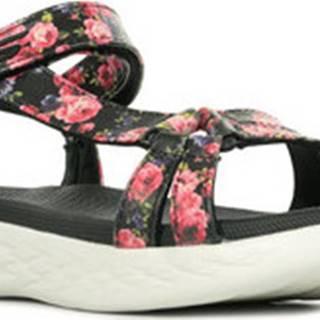 Skechers Sportovní sandály On The Go 600 Černá