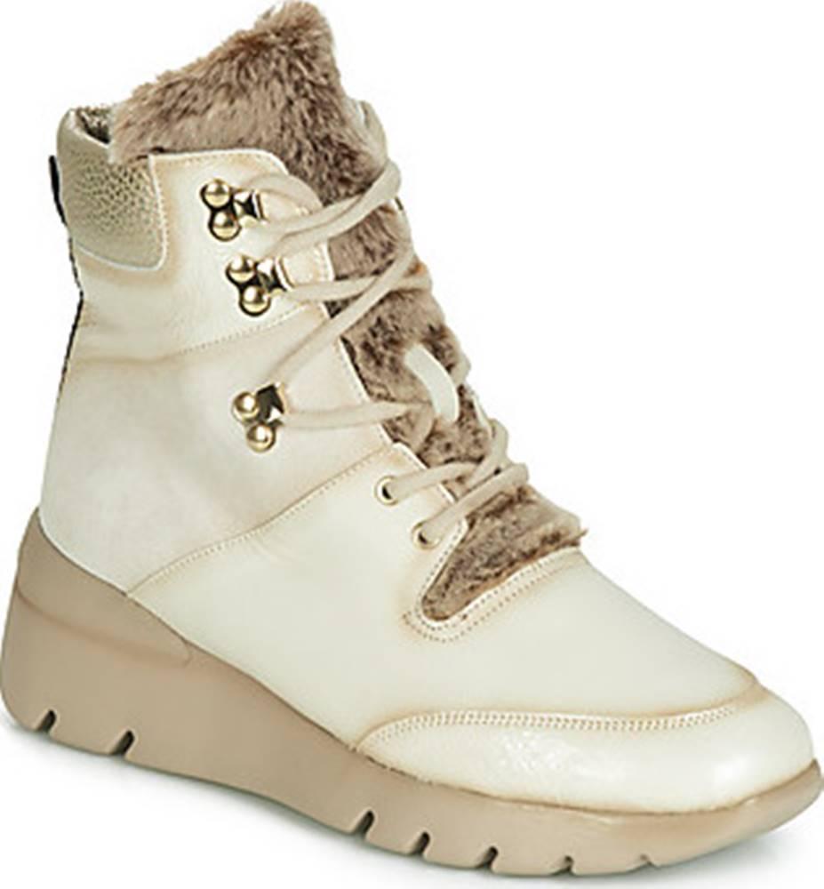 Hispanitas Hispanitas Kotníkové boty RUTH Béžová