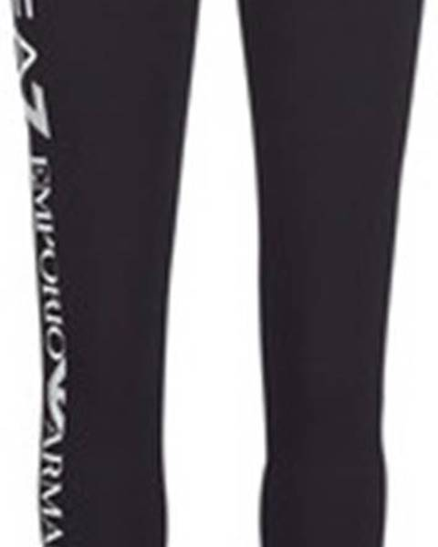 Černé kalhoty Emporio Armani EA7