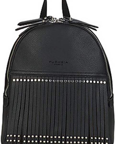 Černý batoh Fuchsia