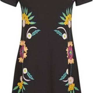 Desigual Krátké šaty DALLAS Černá