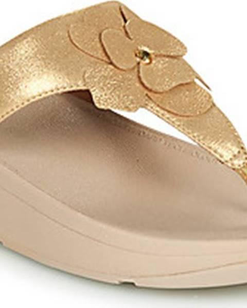 Zlaté pantofle FitFlop