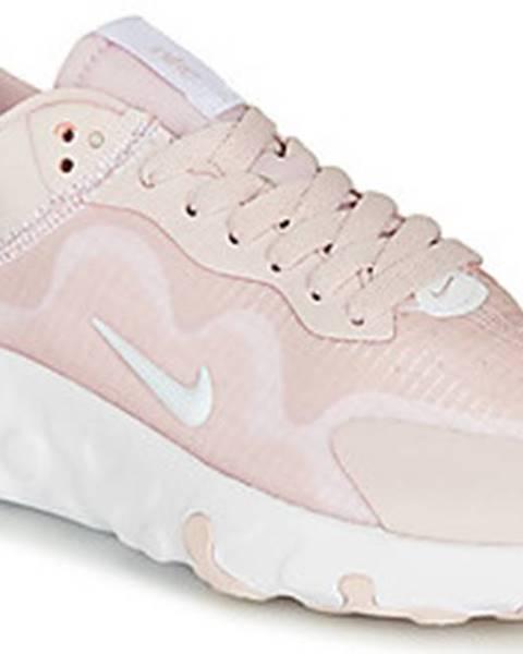 Růžové tenisky nike