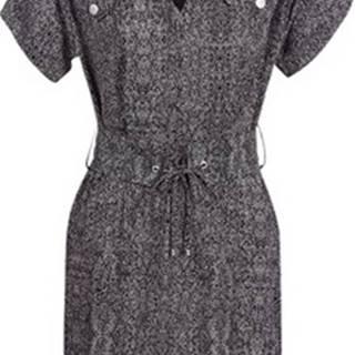 Ikks Krátké šaty BN30155-02 Černá
