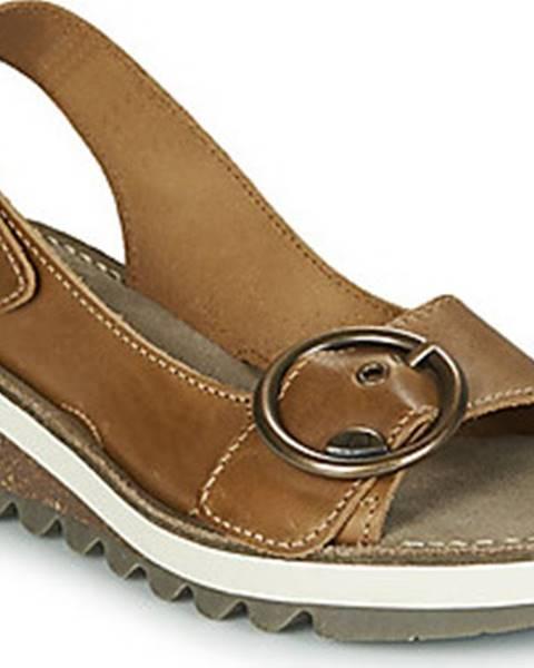 Hnědé sandály Fly London