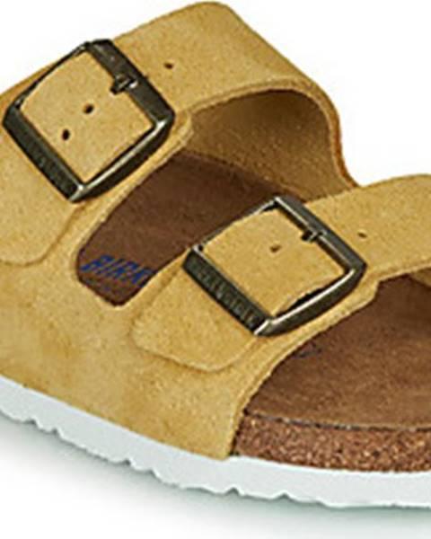 Žluté pantofle Birkenstock