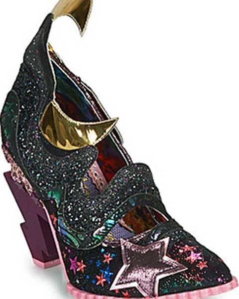 Černé boty Irregular Choice