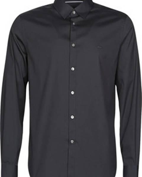 Černá košile lacoste