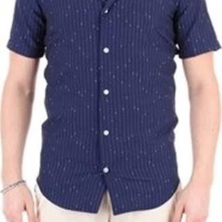 Massimo La Porta Košile s krátkými rukávy 4102 Modrá