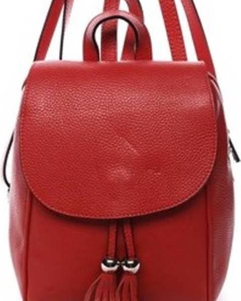 Červený batoh ITALY