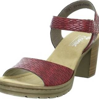 Rieker Sandály Sandals V1589 ruznobarevne