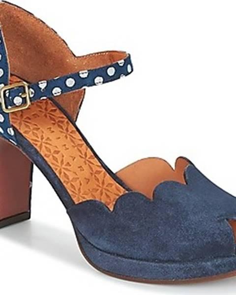 Modré sandály Chie Mihara