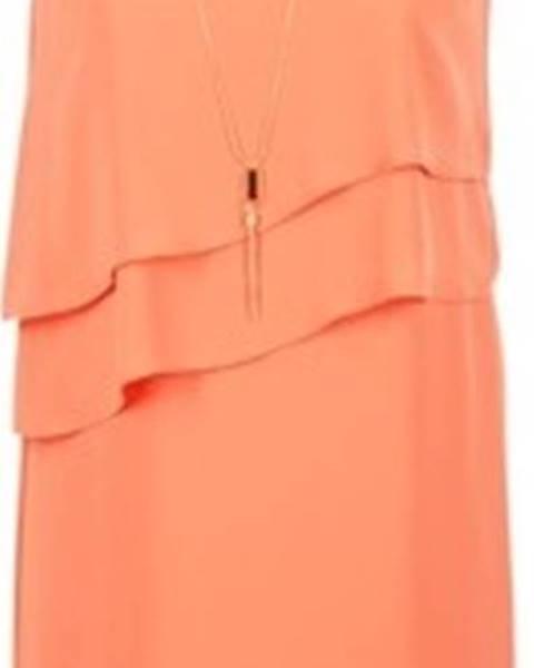 Oranžové šaty Esprit