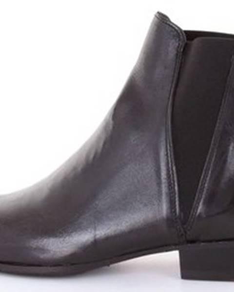 Černé boty Pawelk's