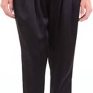Alberta Ferretti Kapsáčové kalhoty V03015118 Černá