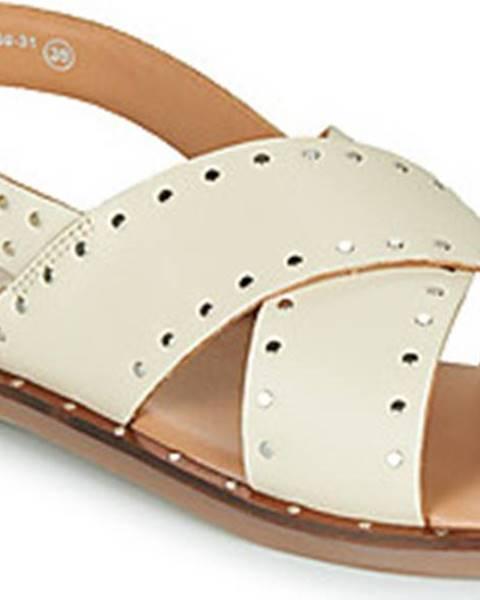 Béžové sandály Kickers