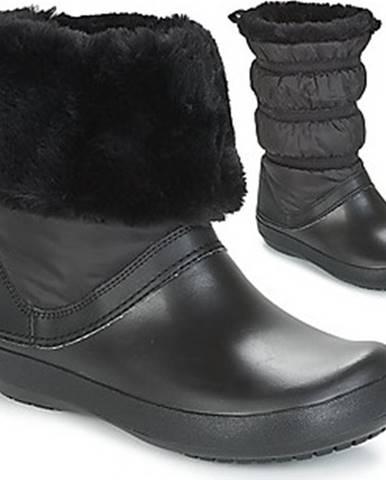 Crocs Zimní boty CROCBAND WINTER BOOT Černá