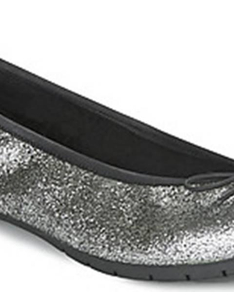 Stříbrné baleríny André