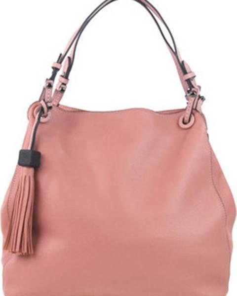 Růžová kabelka BELLA BELLY