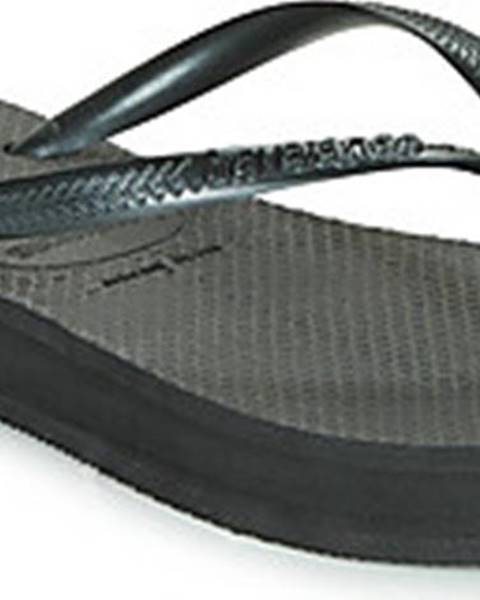 Černé pantofle havaianas