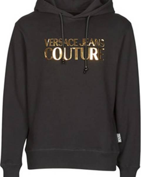 Černá mikina Versace Jeans Couture