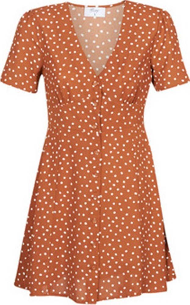 Betty London Betty London Krátké šaty MILPO Hnědá
