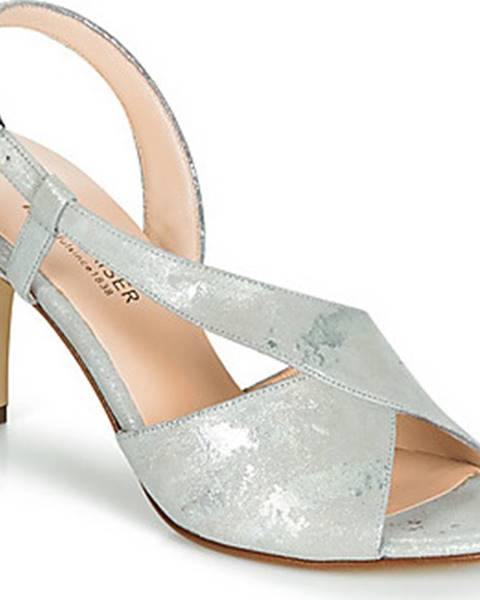 Stříbrné sandály Peter Kaiser