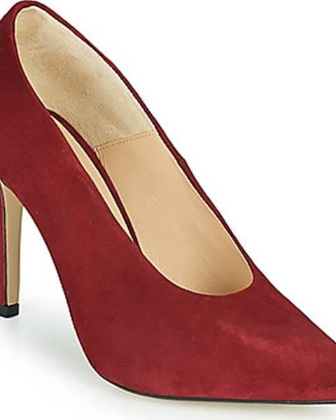 Červené boty Jonak