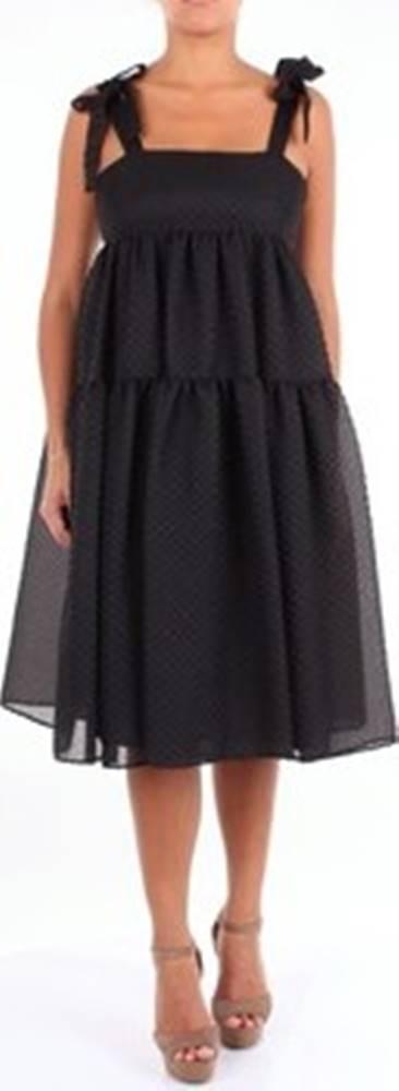 Moschino Moschino Krátké šaty A04060338 Černá