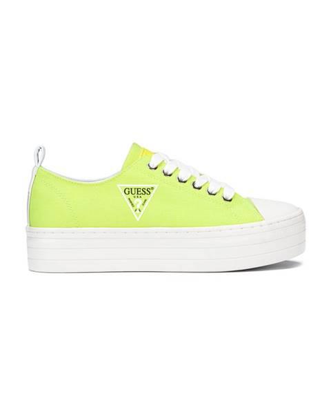 Žluté tenisky Guess