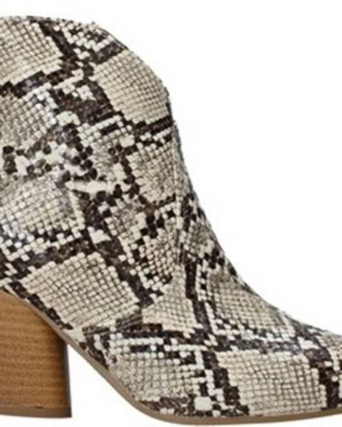 Béžové kozačky Grace Shoes