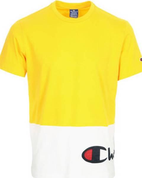 Žluté tričko champion