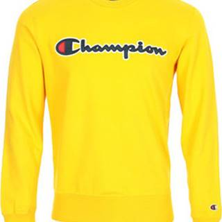 Champion Mikiny Sweatshirt Logo Žlutá