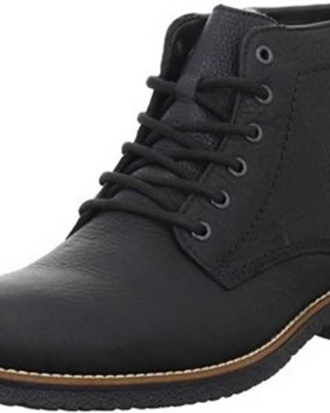 Černé boty Rieker