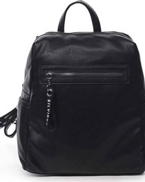 Černý batoh Silvia Rosa