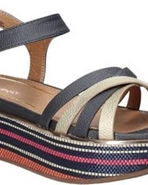 Modré sandály wrangler