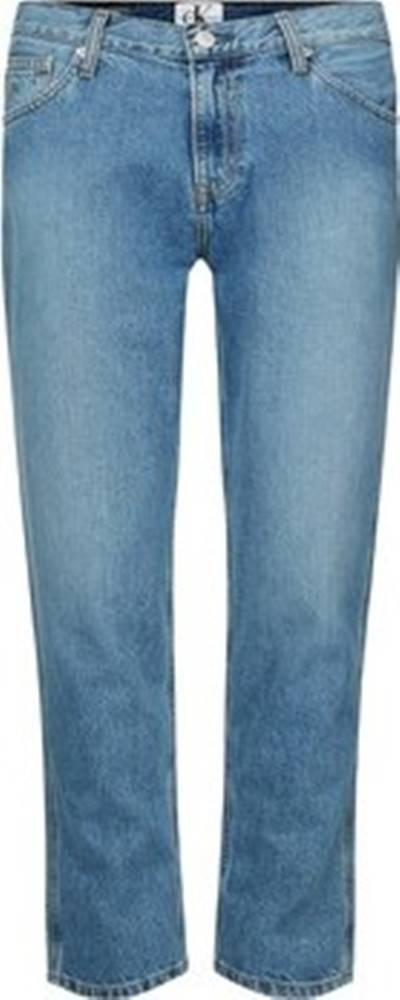 calvin klein jeans Calvin Klein Jeans Rifle rovné J20J212767 Modrá