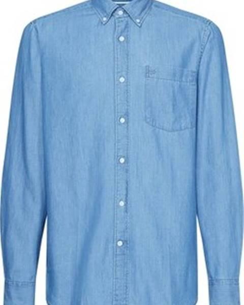 Modrá košile calvin klein jeans
