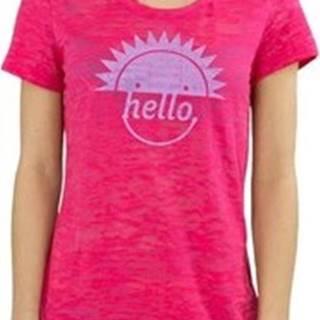 Reebok Sport Trička s krátkým rukávem RH Burnout Tshirt Růžová